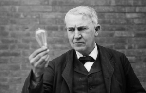 Thomas Edison made over 1,000 unsuccessful attempts at inventing the lightbulb