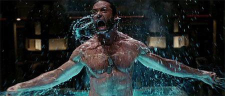 Hugh Jackman's Water Gun Fight